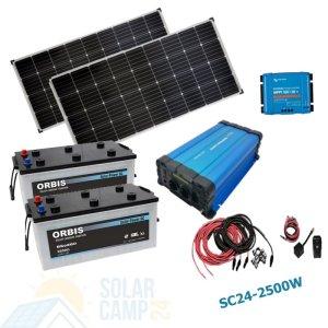 1000W - 3000W Solar Inselanlage