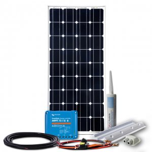 160 - 300W Solaranlage