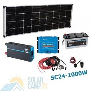 500W - 1000W Solar Inselanlage