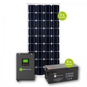 Solar Inselanlage 230V